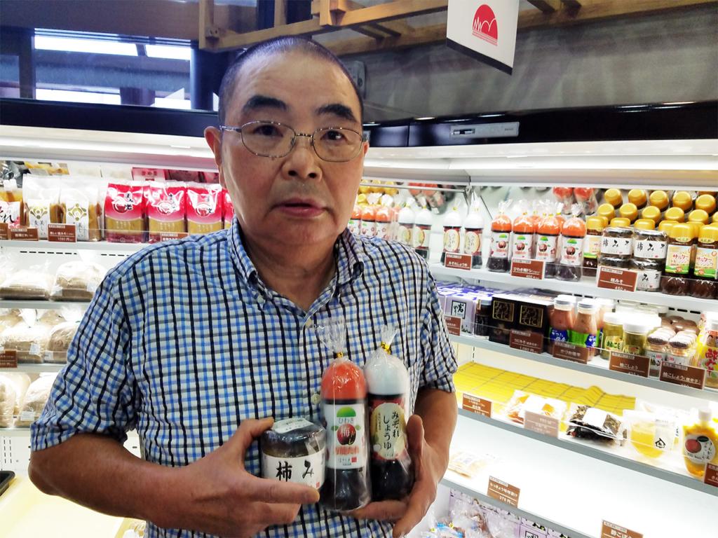 【出品者さんピックアップ】「お店で人気のしゃぶしゃぶにも使用している美味しいたれをご賞味ください。」 故郷の味の掃本春男さん。