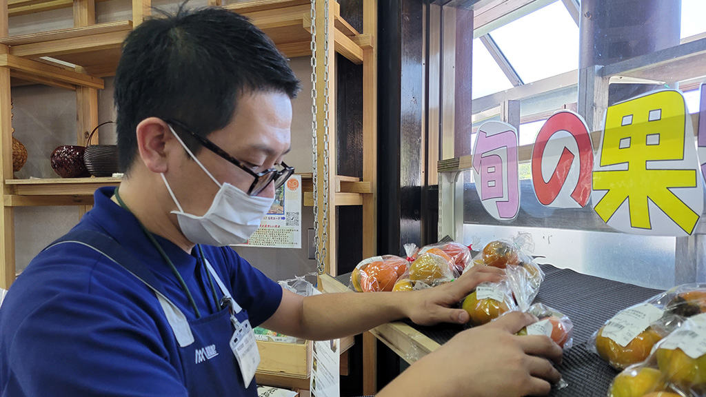 【スタッフ紹介】「ご来店していただいたお客様にワクワクして買い物をしてもらえるお店作りに取り組んでいます。」小林店長